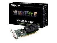 PNY nVIDIA Quadro FX 380 Grafikkarte (PCI-e, 512MB GDDR3 Speicher, 1 GPU) Full Retail