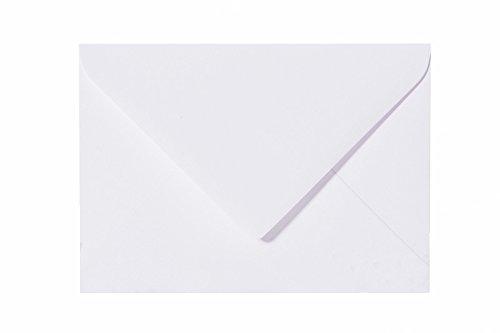 25 Standard-Briefumschläge 14x19 cm - Weiß - 80 g/qm