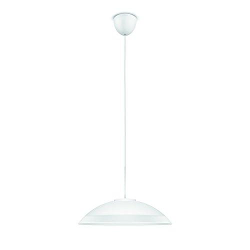 Philips Lighting myLiving LED Pendelleuchte Finavon satiniertes Glas, 8 W, Weiß