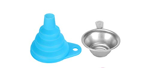 Voarge Accessori per stampanti con filtri in resina per stampa 3D Combinazione di imbuti per filtri per stampante 3D