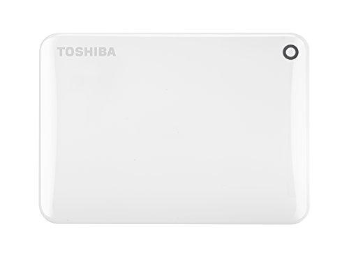 Toshiba Canvio Connect Ii - Disco Duro Externo De 1 Tb (Usb 3.0, 6,35 Cm (2.5')), Blanco