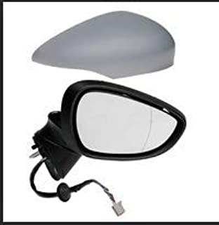 Qiilu Electric Adjust Complete Wing Door Mirror Rear View Mirror for Ford Fiesta MK7 08-12 (Position : Right Side)