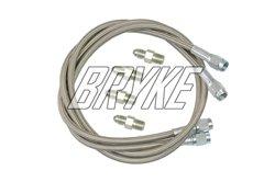 """Go kart Brake line kit Steel Braided Go-kart brakeline 30"""" Racing Kart cart Bryke Racing"""