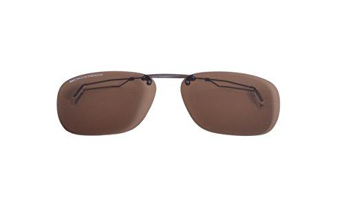 ESCHENBACH Clip-on-Sonnenbrille Brown 2997-29261