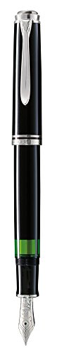 Pelikan Premium M805 Füllfederhalter, Feder B Plume schwarz