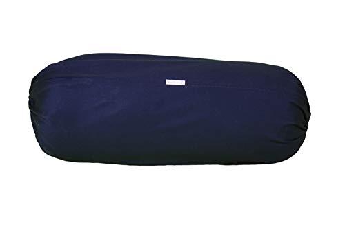 Yoga-Nackenrolle – 100% Baumwolle – Original Iyengar Yoga-Requisiten – Unterstützung der Wirbelsäule – 100% Baumwolle Füllung – 25 x 65...