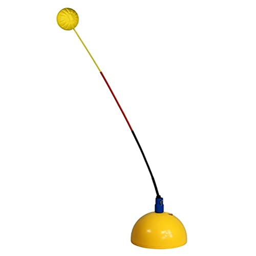 YSSClOTH Tennis Trainer Rebound Tennis Bal Self Tennis Training Tool Bal Terug Training Self Tennis Oefening Plint voor…