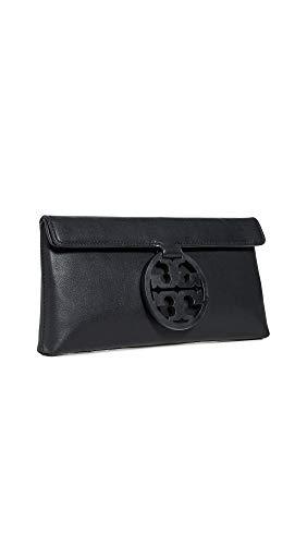 Tory Burch Women's Miller Clutch, Black, One Size