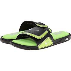 Nike Comfort Slide 2 Black White Mens Sandals Size 44 EU