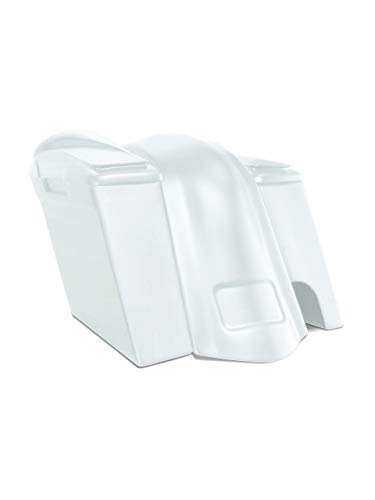 Learn More About Harley Davidson 6 extended stretched saddlebags and fender kit right side cut outs...
