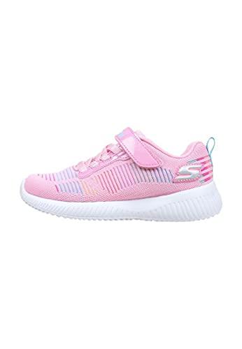 Skechers Mädchen BOBS Squad Sneaker, Pkmt, 31 EU