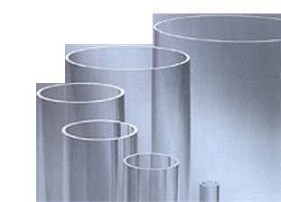 Tubo de policarbonato, diámetro 32/26 mm, longitud 2000 mm/2 metros.