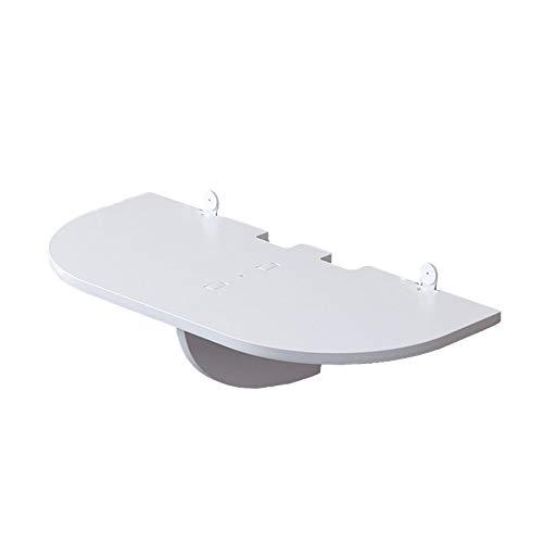 JINBAO Estantes Flotantes Sin Perforaciones Fácil de Instalar Fácil de Limpiar Impermeable a Prueba de Humedad Fuerte Capacidad de Carga Montaje en Pared para Dormitorio Sala de Estar Estudi