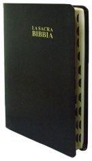La sacra Bibbia Nuova Diodati - C03PNR - Formato piccolo [Bibbia Piccola] Nera con rubrica