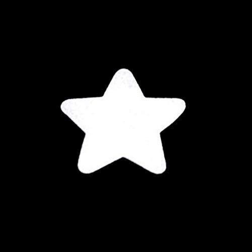 CHZIMADE Reflektierender Stoff-Aufkleber, leuchtet im Dunkeln, Klebeband für UV-Party, Dekoration, Urlaub, Zubehör, sichert Kabel, 4,5 cm