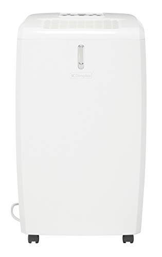Dimplex 20L EverDri dehumidifier with electronic humidistat, humidity comfort light and timer
