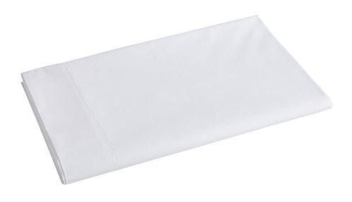 Blanc des Vosges Drap Marquise Blanc 280 x 320 cm - Percale 100% coton