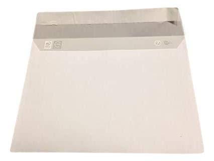 500 A5 correo Envelope - C5 papel blanco tamaño 90g 162 x 229 mm sobre blanco con cierre de tira adhesiva