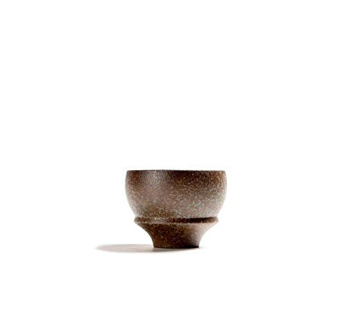 qnmbdgm 1 stuk theekopje van Japanse keramiek ruwe keramiek voor puer-thee theeglazen van porselein kopje Chinese thee Kungfu