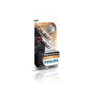 PHILIPS 12036B2 H6W 12V 6W Premium Vision Doppelblister 2 Stück Park Standlicht