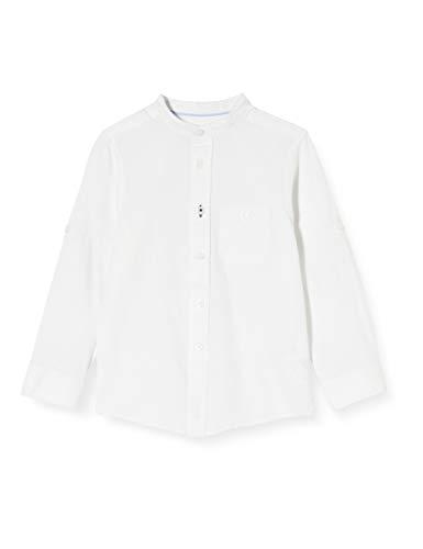 ZIPPY Camisa liño SS20, White, 9/10 para Niños