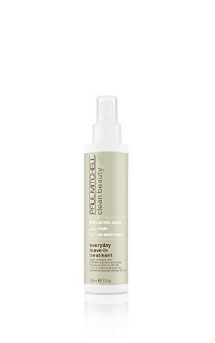 Paul Mitchell Clean Beauty Everyday Leave-In Treatment – Vegane Haarpflege Für Alle Haar-Typen, Tägliche Haar-Kur Mit Argan-Öl – 150ml