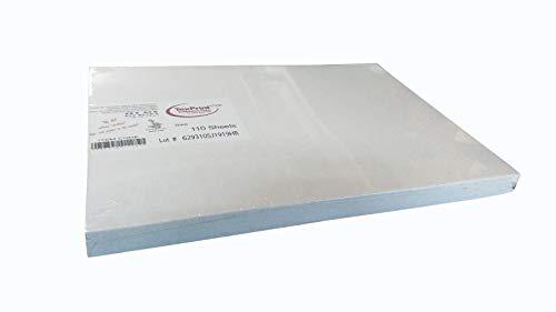 Texprint/Stampa Continua Papel de sublimación XPHR A4 Original USA – 110 Hojas de sublimación, Blanco