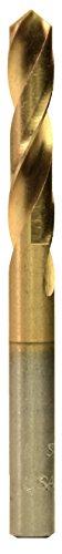 Viking Drill and Tool 96300#38 Type 260-TN 135 Degree Split Point Screw Machine Length Drill Bit (6 Pack)