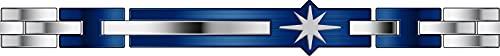 Zancan EHB227 - Pulsera para hombre de acero, colección Hi Teck