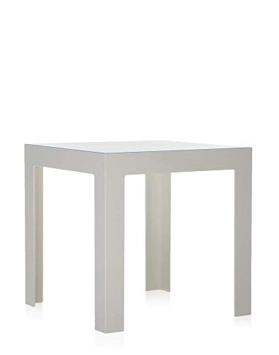 Kartell Jolly, Table Basse, Blanc Brillant Opaques