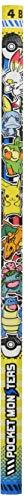 ショウワノート ポケットモンスター かきかた鉛筆 4B 4本パック 358729001