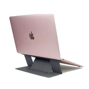 Broonel Grauer Leichter Laptop Ständer - Kompatibel mit dem Toshiba Encore 2 WT10-A-102