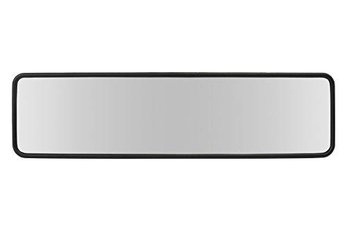 BCCORONA INT40112 Espejo Retrovisor Interior Panorámico Sin Reflejos Universal para vehículo Montaje por Bandas de sujeción, Negro