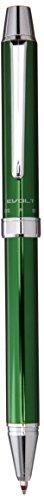 Pilot 2 +1 EVOLT 2 Color 0.7 mm Ballpoint Multi Pen 0.5 mm Mechanical Pencil, Green Body