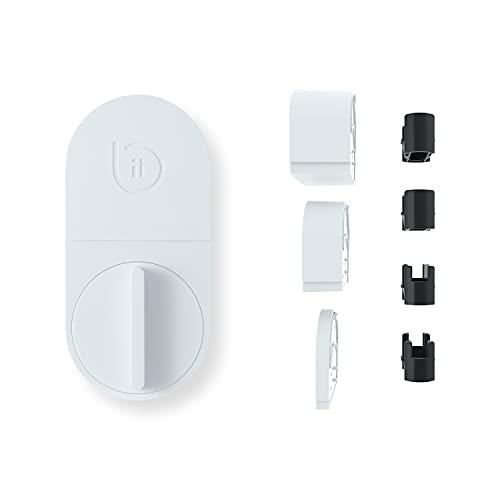 bitlock LITE2 ホワイト(ビットロック ライト2)   スマホで自宅のカギを開け閉め/工事不要・取付簡単なスマートロック/サポート充実/故障時新品交換/iOS専用(iOS14.0以上に対応) / Android未対応/現在Alexa未対応