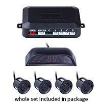 Affordable Sensor kit Black : 4 Sensors for Parking LED Sisplay Car Parktronic Radar Monitor Detecto...