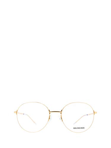 Balenciaga Luxury Fashion Herren BB0035O003 Gold Metall Brille   Jahreszeit Permanent