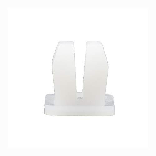 Clips de fixation en plastique pour phares de voiture, feux arrière, feux de direction à tête carrée