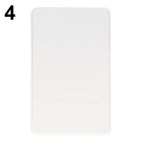 NAttnJf Portátil Mini 2,5Pulgadas USB 2,0SATA HD Box HDD Disco Duro Mobile Funda Externa Caso Blanco Bianco