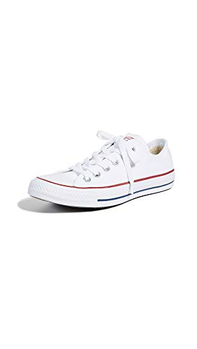 Converse Unisex Chuck Taylor All Star Low Top Optical White Sneakers - 9 D(M)