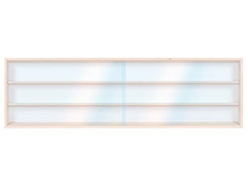 V140.3A vitrine spoor HO & N rek H0 140 cm 3 vakken met groeven