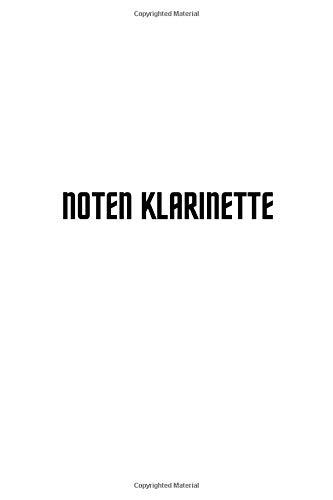 noten klarinette