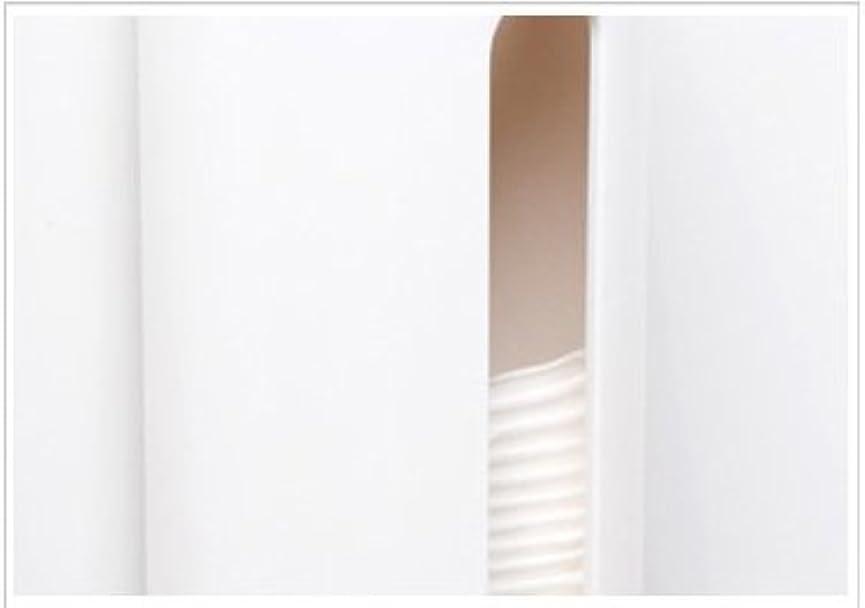 Xiton コットンケース コットン入れ 円筒型収納ボックス 小物入れ コットン収納 アクリル製 蓋付き 北欧