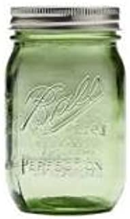 BALL メイソンジャー グリーン 480ml 100周年限定カラー Mason jar 16oz 【並行輸入品】