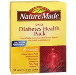 Nature Made Diabetes Health Pack 30 Packets  Pack of 2