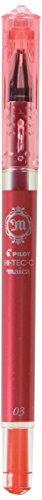 Pilot Hi-Tec-C Maica Gel Ballpoint Pen, Red Extra Fine (LHM-15C3-R)