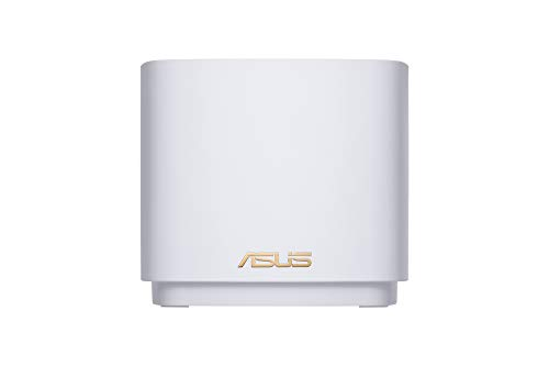 Asus Ai Mesh AX-WLAN System ZenWiFi XD4 Weiß (1er Pack, AX1800 WiFi 6, 2x Gigabit LAN, App Steuerung, unterbrechungsfreies Roaming, AiProtection)