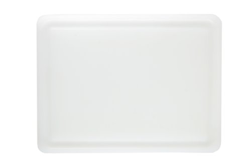 Dexas NSF Polysafe Pastry/Cutting Board with Well, 15 by 20 inches, White