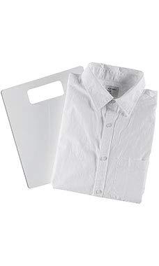 "SSWBasics Acrylic Shirt Folding Board - 10"" W x 12"" H"