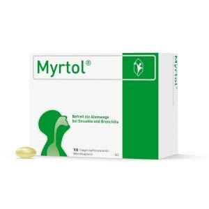 Myrtol 100 St, pflanzlicher Schleimlöser für Kinder ab 6 Jahren. Befreit die Atemwege bei Sinusitis und Bronchitis